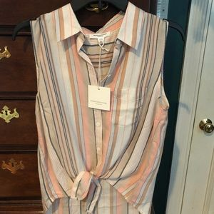 New with label tags summer designer top